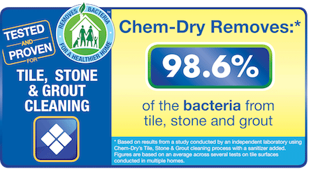 Stone, Tile and Grout Cleaning Statistics provided by Chem-Dry Kishwaukee